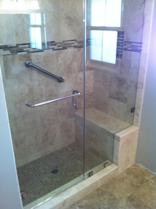 Frameless Shower Doors Knee Wall